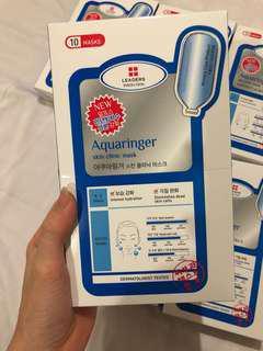 LEADERS INSOLUTION Aquaringer skin clinic mask