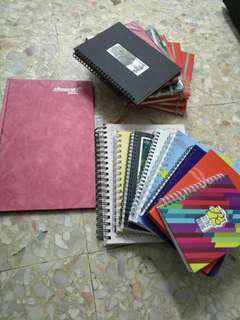 Notebook with single line or blank