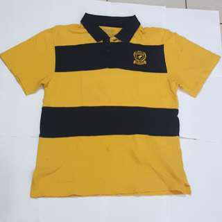 Original wrangler polo shirt (yellow)