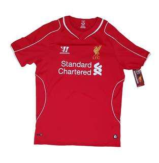 Authentic BNWT LFC 2014-15 Home Shirt