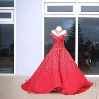 Red Ballgown (Debut)