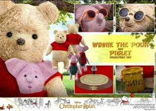 MMS503-CHRISTOPHET ROBIN -WINNIE THE POOH AND PIGLET SET