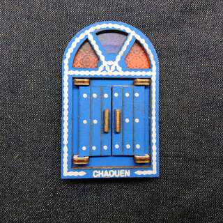 摩洛哥 藍色小鎮 手信 磁石
