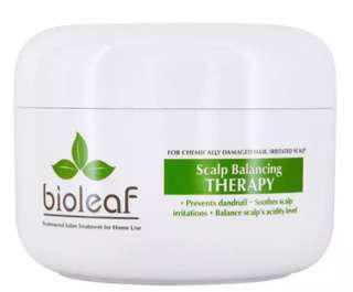 Bioleaf scalp balancing therapy hair mask