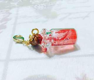 🚚 Spilled potion bottle keychain