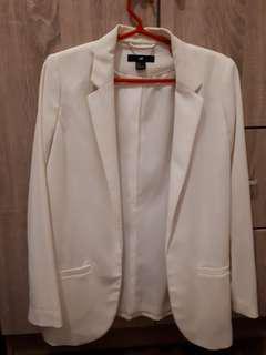 Original H&M White Blazer