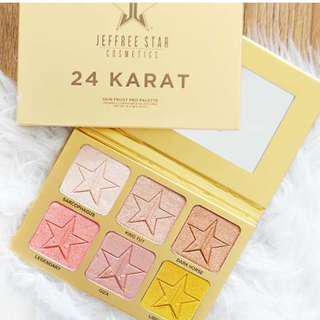 🚚 [SPREE] Jeffree Star 24 Karat Skin Frost Pro Palette Jeffreestar Cosmetics