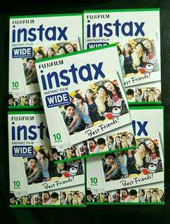 Plain Wide Instax/Polaroid Films