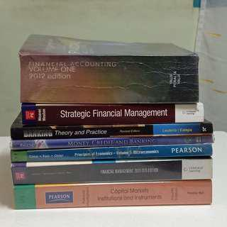 ACCOUNTING/ FINANCIAL BOOKS