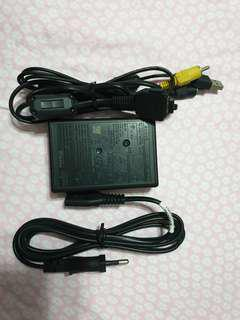 Sony TX1 Battery Charger with USB Cable