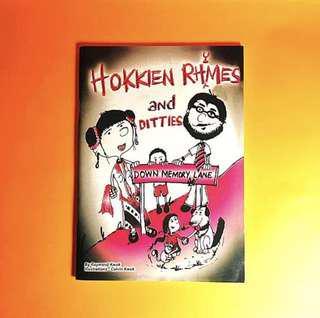 Hokkien rhymes and ditties - Down memory lane