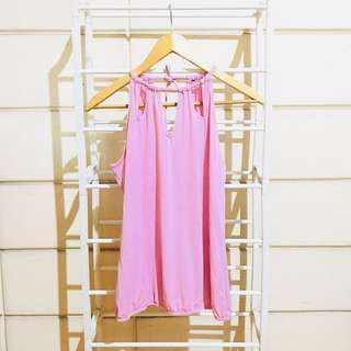 Baby Pink Halter Top