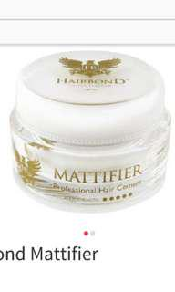 Hairbond mattifier- used...selling as not suitable