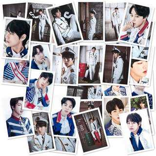 BTS in Military uniform  photo cards