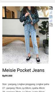 Messie pocket jeans import