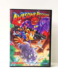 Sega Mega Drive  -  AWESOME POSSUM