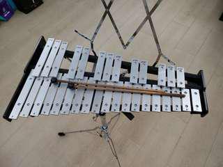 Vic Firth 鋼片琴(連鼓、琴鎚、casing)