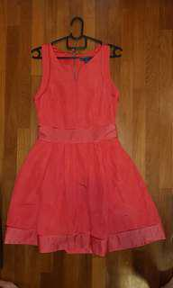 Armani Exchange Orange dress size 0