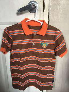 Authentic Periwinkle Jr boys top polo shirt fits 4 years old