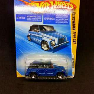 Hot wheels vw tipe 181