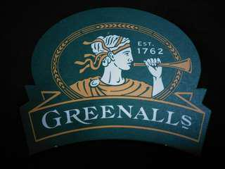 🚚 Greenalls Beer Coaster/Mat🍻