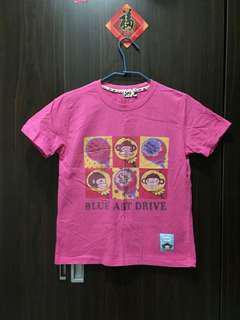 """🚚 """"猴子粉色短袖T恤""""女版M"""