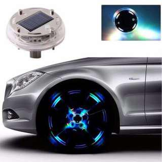 Car hub cap light accesories