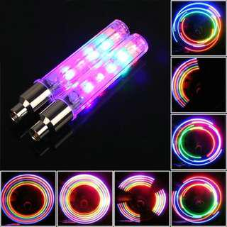 Tire Valve LED Lights (MultiColor)