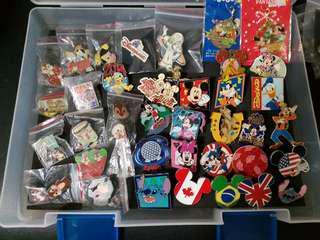 迪士尼 disney pins 交換徽章 木偶 史迪 松鼠