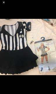 Leg avenue referee Halloween costume