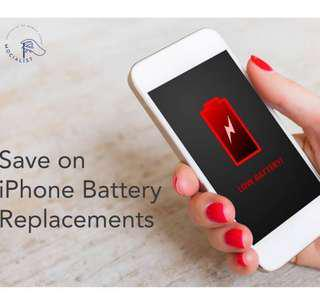 Phone Battery Replacement , iPhone Battery change