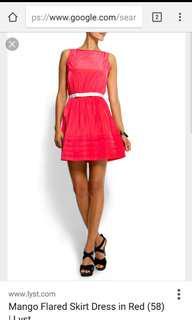 Fuchsia dress #under90
