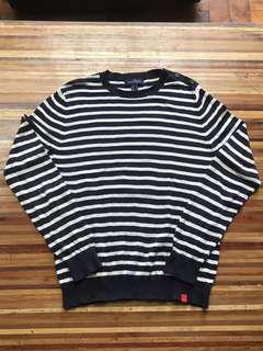 Lands' End Striped Sweater