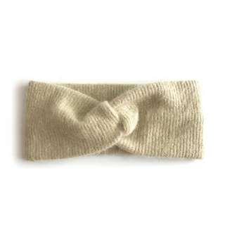 🚚 毛線針織寬邊交叉髮帶