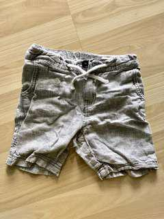 H&M Kids Grey Linen Shorts