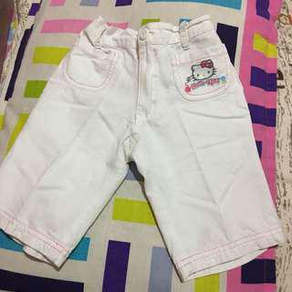 Sanrio hello kitty short pants