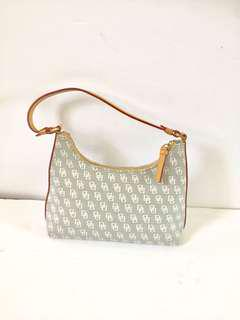 Authentic Dooney And Bourke Small Signature Hobo