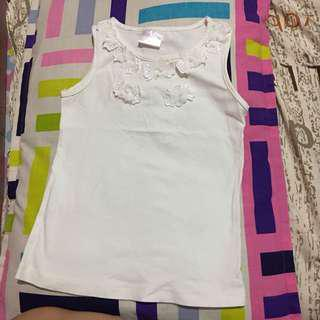 Little miss sleeveless blouse
