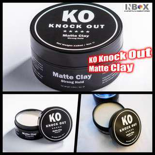 🚚 KO knock Out matte Clay