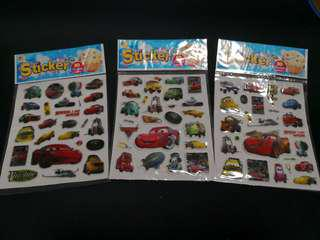 3 x Car Stickers ~ Clearance Sales