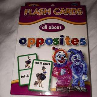 Flash Cards (All About Opposite)