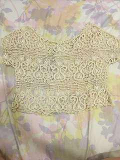 Lace overall