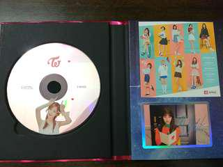(WTS) Twice Signal Album Red Version with Tzuyu CD plate