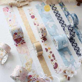 Japan Inspired Set-of-3 Washi Tapes