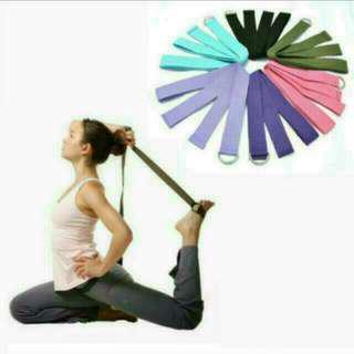 Brand New High Quality Yoga Stretch Strap D-Ring Waist Leg Fitness 180CM Adjustable Belts