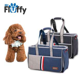 Multi Colour Nylon Fabric Pet Carrier / Bag for 7kg Pet's