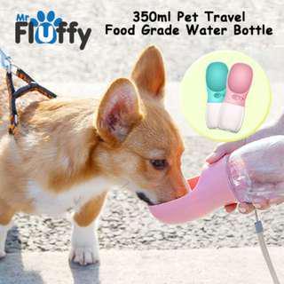 350ml Pet Travel Food Grade Water Bottle
