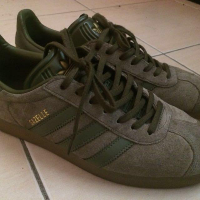 magasin en ligne 2983e 7dcbb Adidas Gazelle Olive