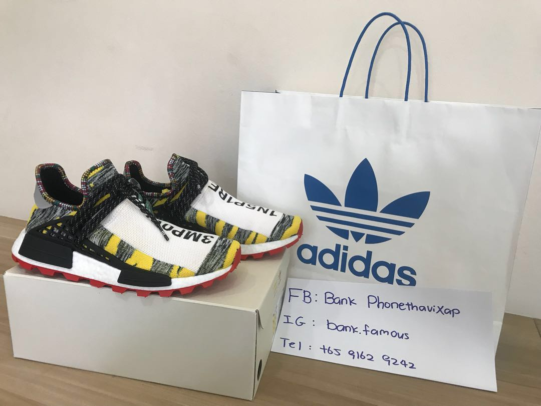 huge discount 2da2e 81126 Adidas NMD HU x Pharrell Williams
