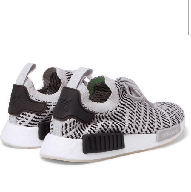 0e6f8f8b84d55 ADIDAS ORIGINALS NMD R1 Stealth Primeknit Sneakers (UK8 only)